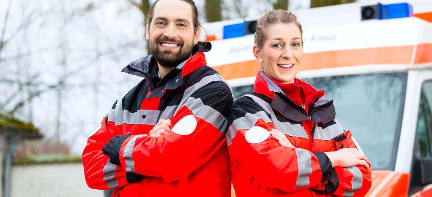 Header für Rettungsassistent (m/w/d) MINIJOB TEILZEIT BERLIN